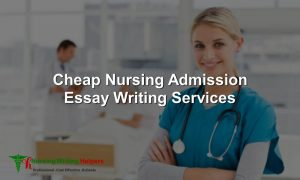Best Nursing Entry Essay Writing Help