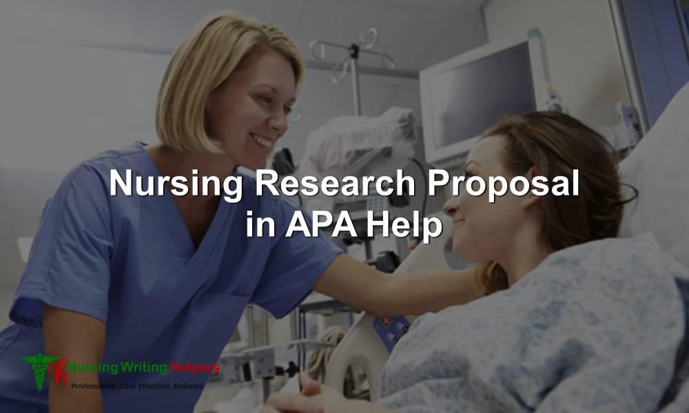 APA Nursing Research Papers Writing Help