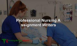 Professional Nursing Assignment Writers Online