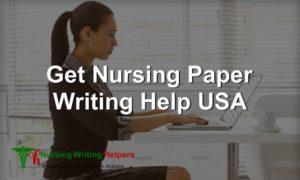 Online Nursing Paper Writing service USA