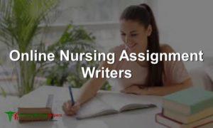 Online Nursing Assignment Writing service