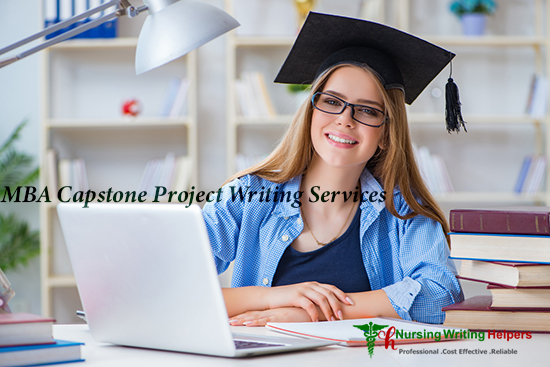 MBA Capstone Project Writing Services