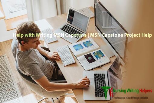 Professional MSN Capstone Project Writing Help